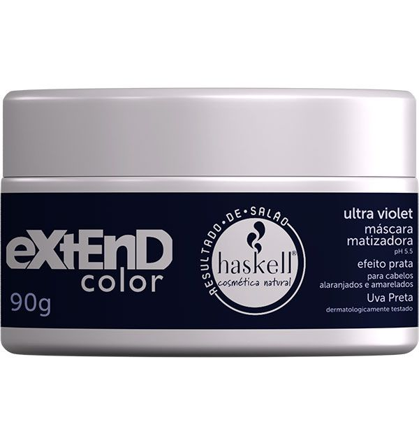 Haskell Máscara Matizadora Extend Color Ultra Violet 90 g