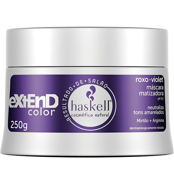 Haskell Máscara Matizadora Extend Color Violet 250 g
