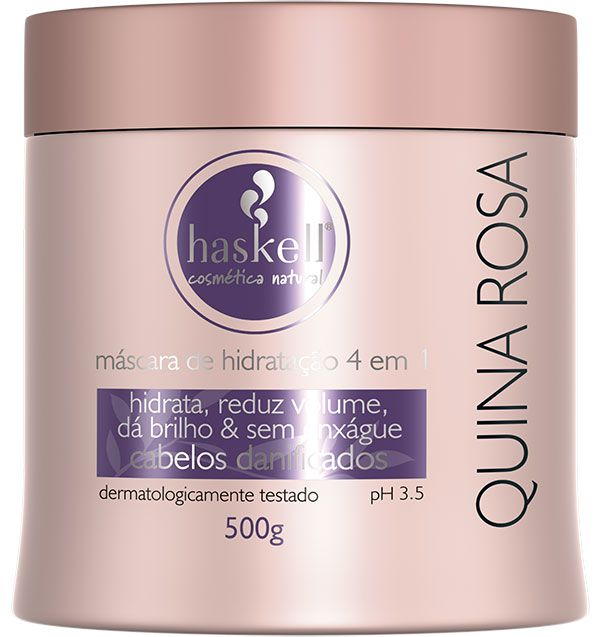 Haskell Máscara Quina Rosa 500 g