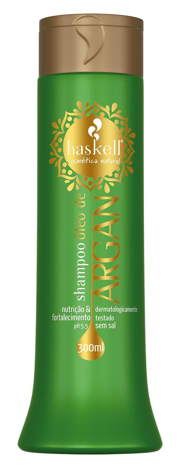 Haskell Shampoo Bálsamo Óleo de Argan 300 ml
