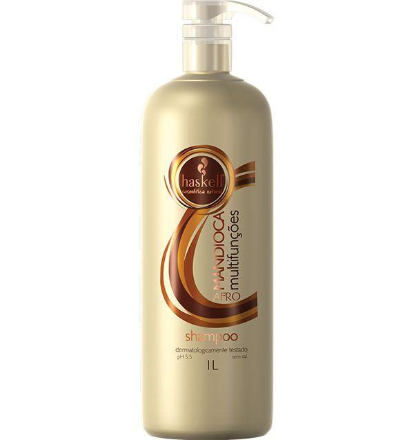 Haskell Shampoo Mandioca Multifunções Afro 1 l