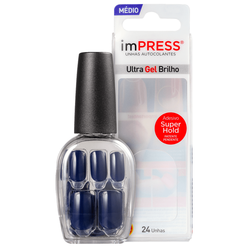 imPRESS Unhas Auto-colantes Beautiful Night