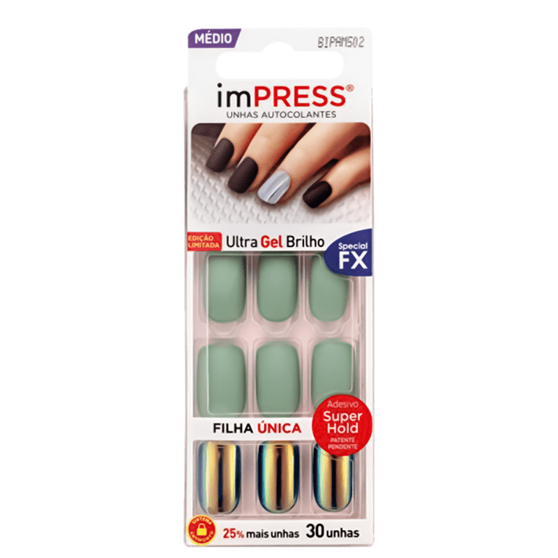 imPRESS Unhas Auto-colantes Respectful