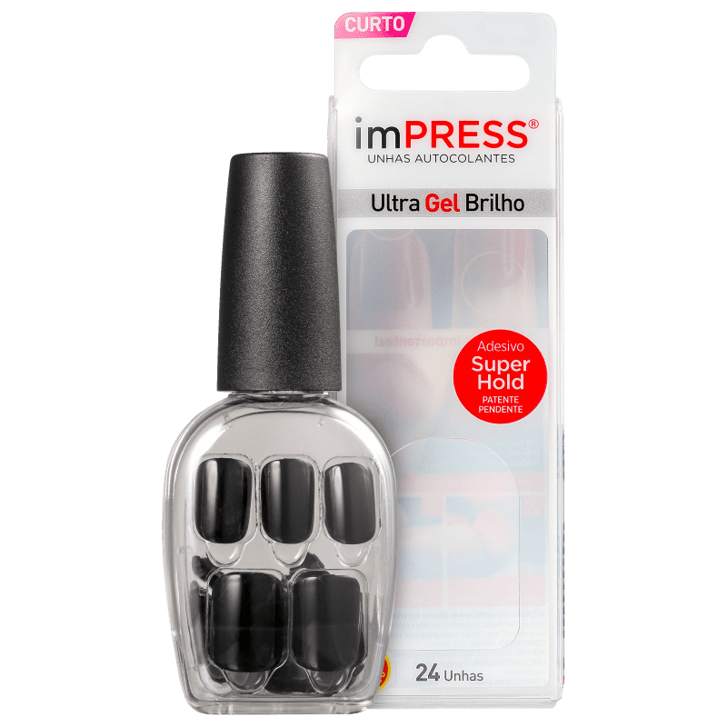 imPRESS Unhas Auto-colantes Text Appeal