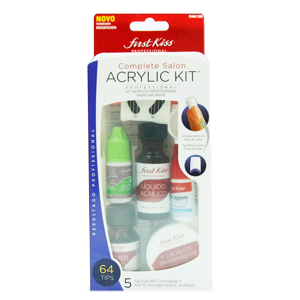 Kiss Kit Complete Salon Acrylic Kit 200g