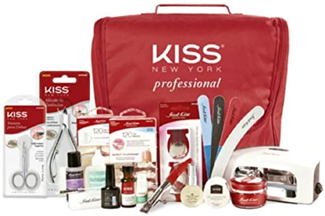Kiss Kit Gel e Acrygel com Cabine
