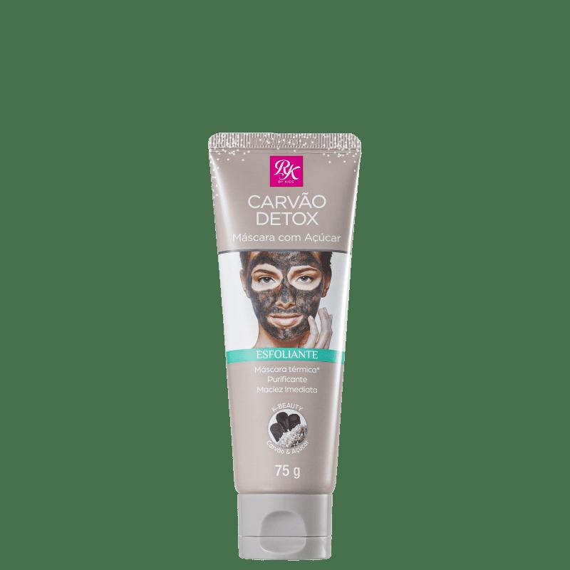 Kiss Máscara Facial Carvão Detox Esfoliante 75g