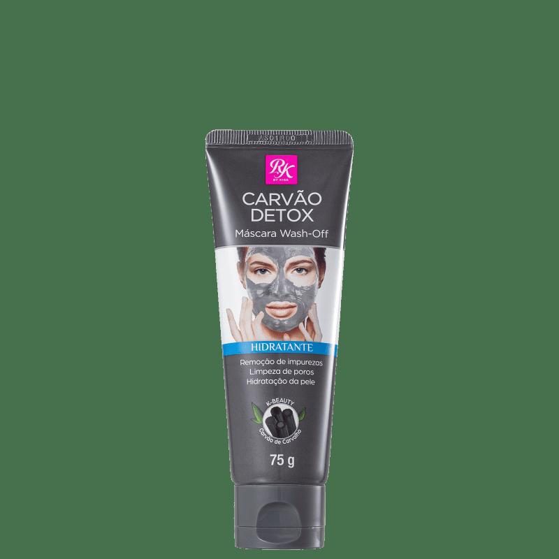 Kiss Máscara Facial Carvão Detox Hidratante 75g