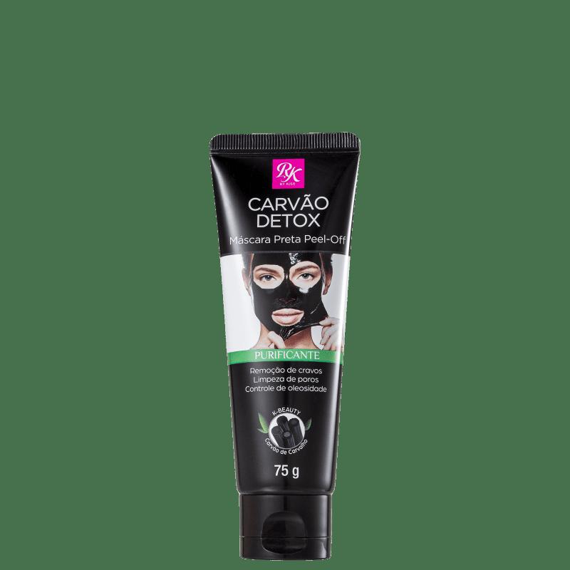 Kiss Máscara Facial Carvão Detox Purificante 75g