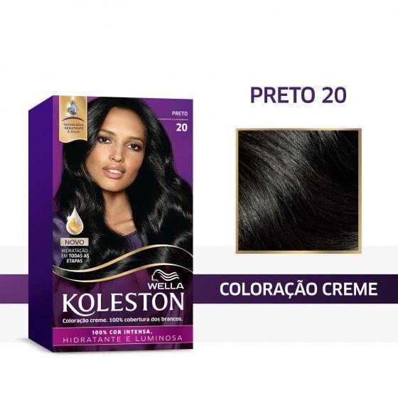 Koleston Coloração 20 Preto