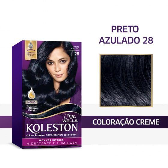 Koleston Coloração 28 Preto Azulado