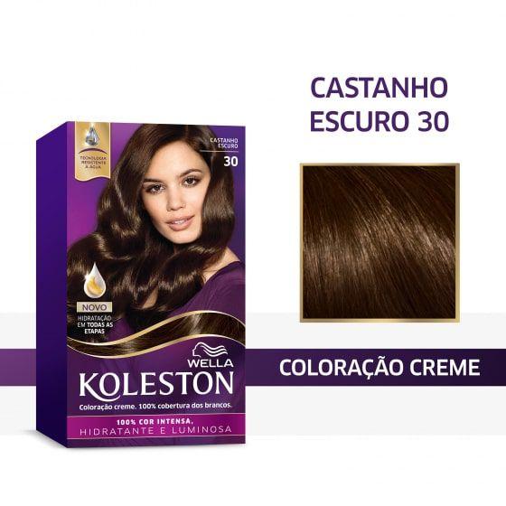 Koleston Coloração 30 Castanho Escuro