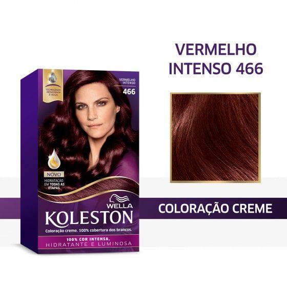 Koleston Coloração 466 Vermelho Intenso