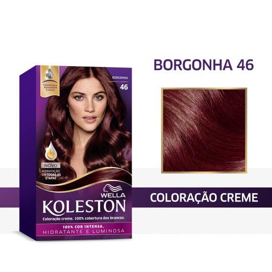 Koleston Coloração 46 Borgonha