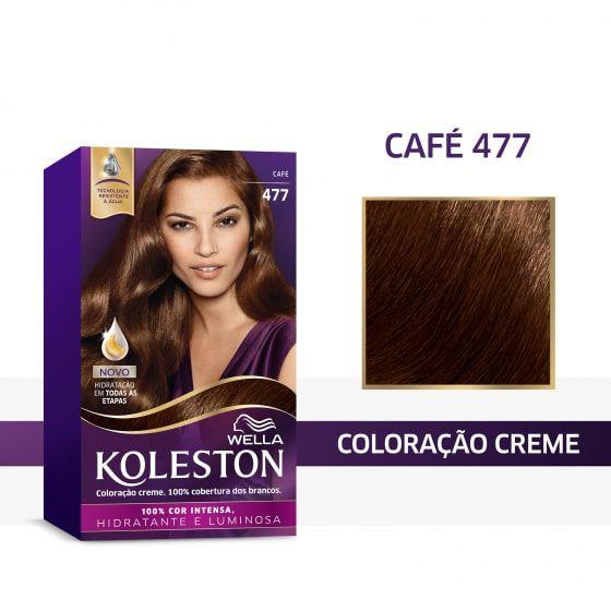 Koleston Coloração 477 Café