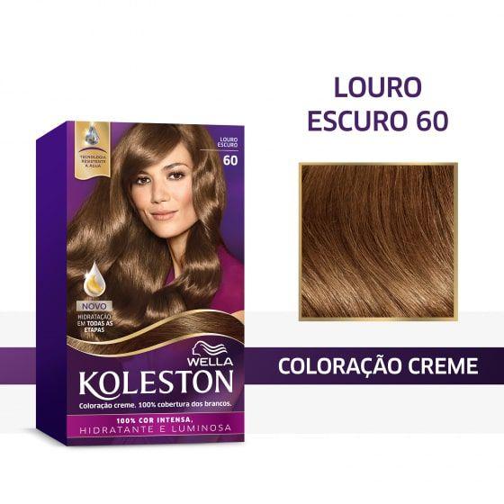 Koleston Coloração 60 Louro Escuro