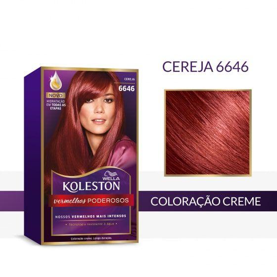 Koleston Coloração 6646 Cereja