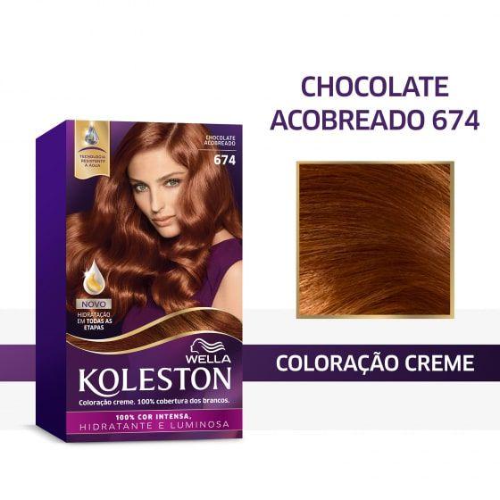 Koleston Coloração 674 Chocolate Acobreado
