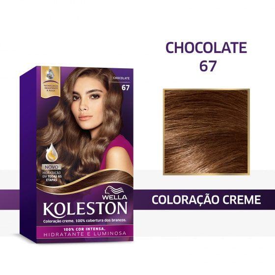 Koleston Coloração 67 Chocolate