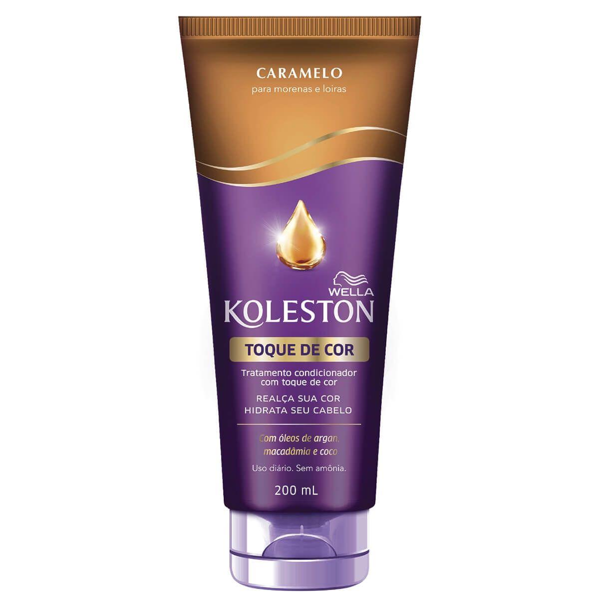 Koleston Condicionador Toque de Cor Caramelo 200mL