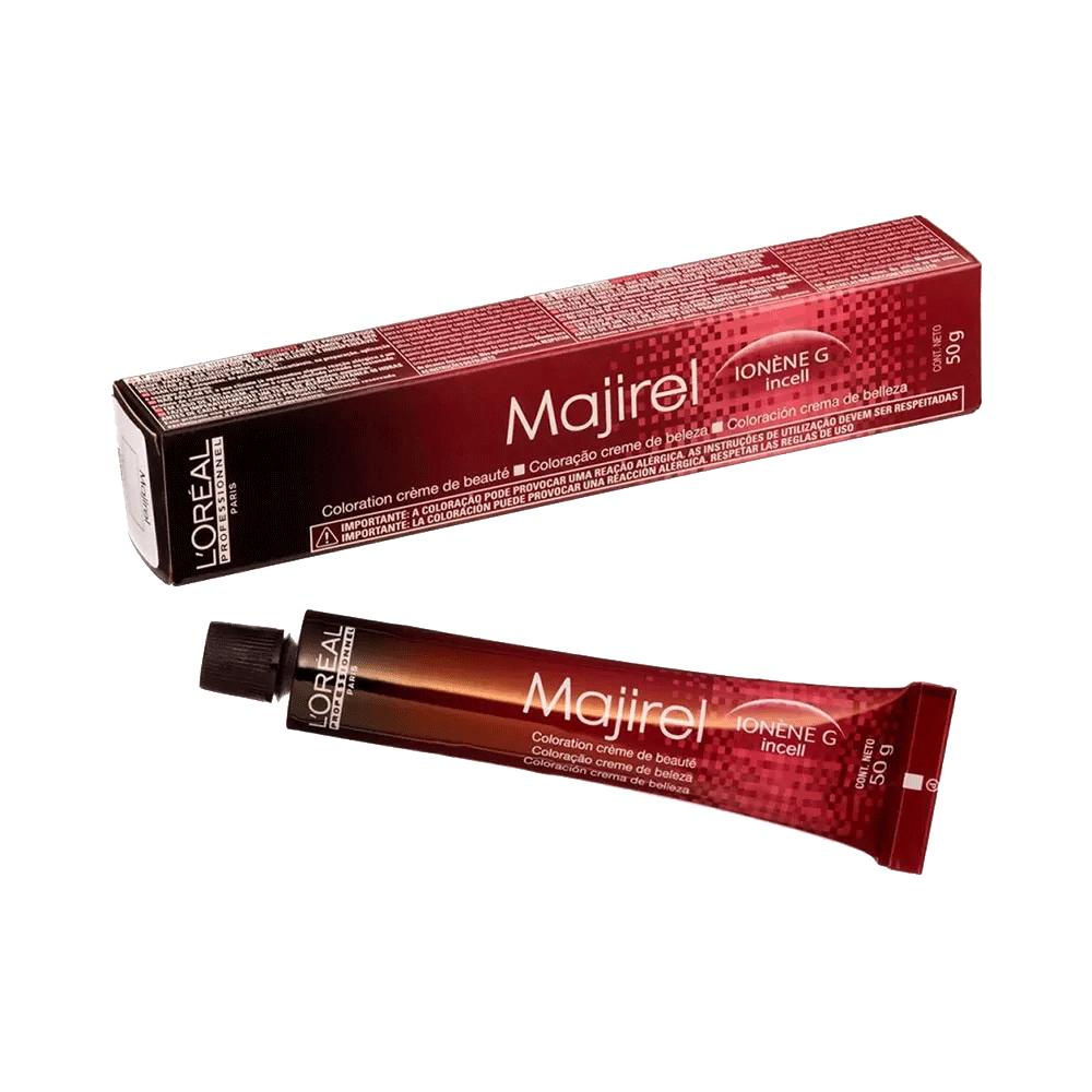 L'Oréal Professionnel Coloração Majirel Castanho Acobreado Vermelho 4.56 50g