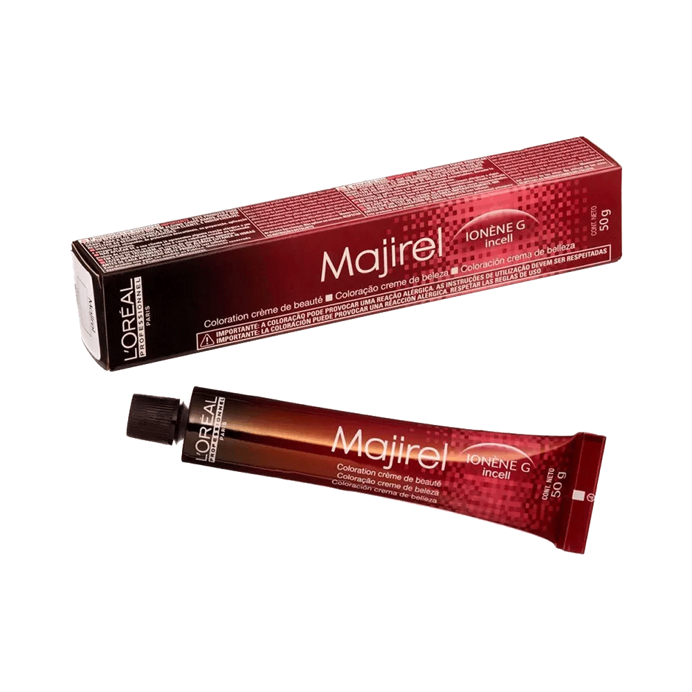 L'Oréal Professionnel Coloração Majirel Louro Acobreado 7.4 50g