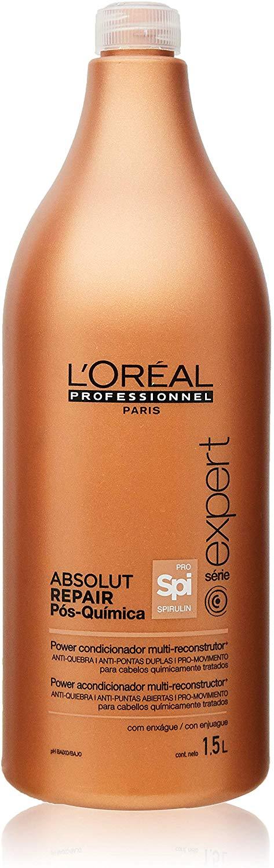 L'Oréal Professionnel Condicionador Absolut Repair Pós-Química 1500ml