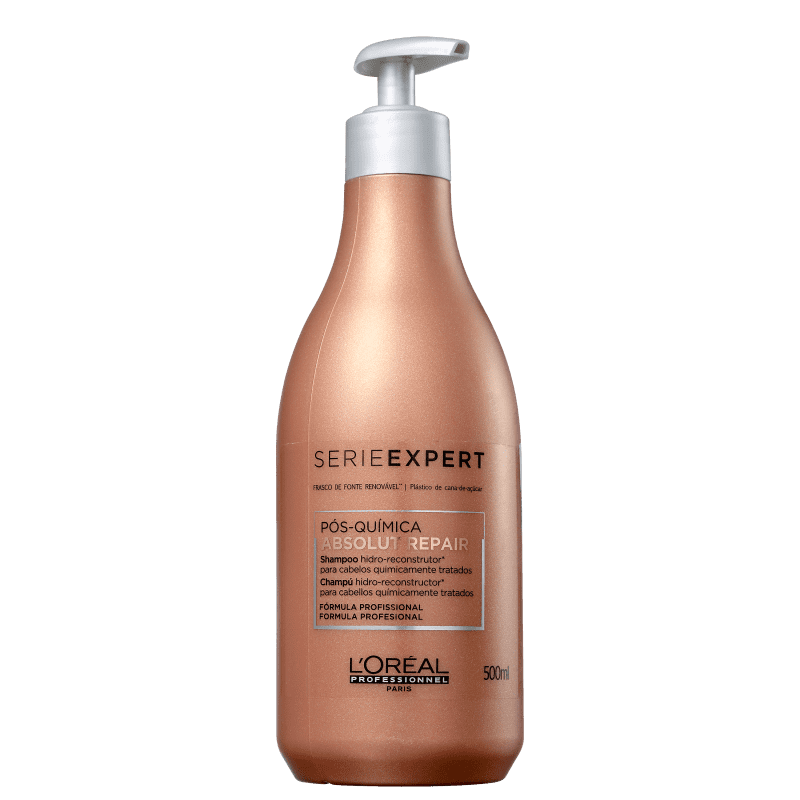 L'Oréal Professionnel Shampoo Absolut Repair Pós-Química 500ml