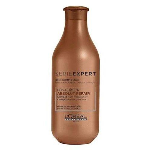L'Oréal Professionnel Shampoo Absolut Repair Pós-Química Multi-Reconstrutor 300ml
