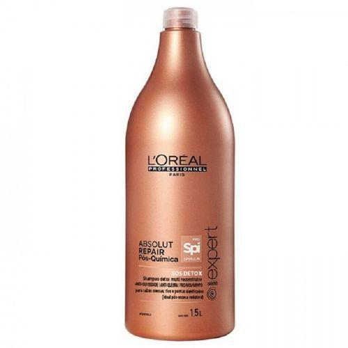 L`Oréal Profissional Shampoo Absolut Repair Pós-Química 1500ml