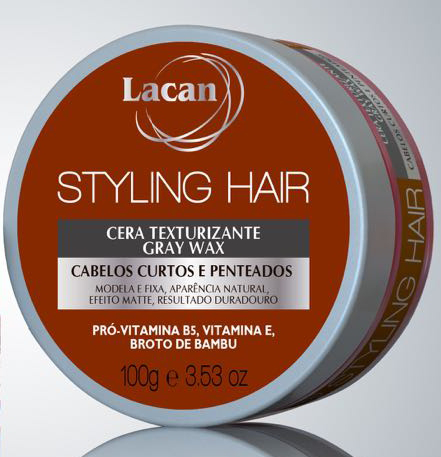 Lacan Cera Styling Hair Gray Wax 100g