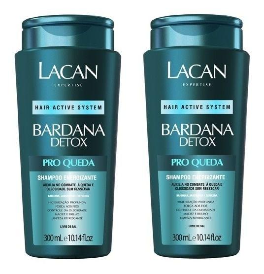 Lacan Shampoo Bardana Detox Pró Queda 300ml