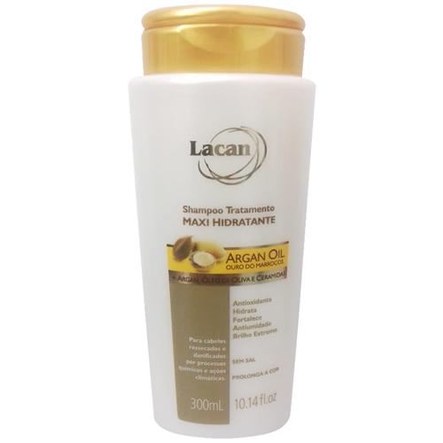 Lacan Shampoo Argan Maxi Hidratante 300ml