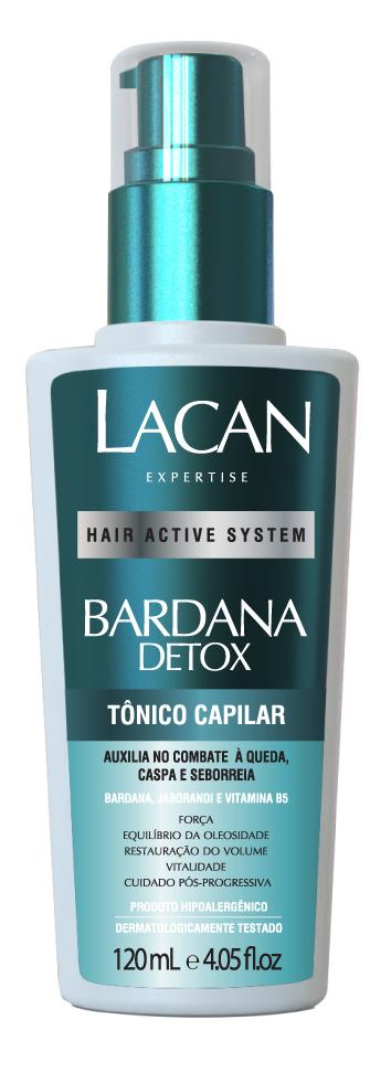 Lacan Tônico Capilar Bardana Detox 120ml