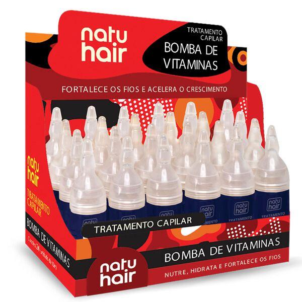 Natu Hair Ampola Bomba de Vitaminas 10mL