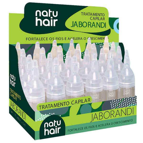 Natu Hair Ampola Jaborandi 10mL