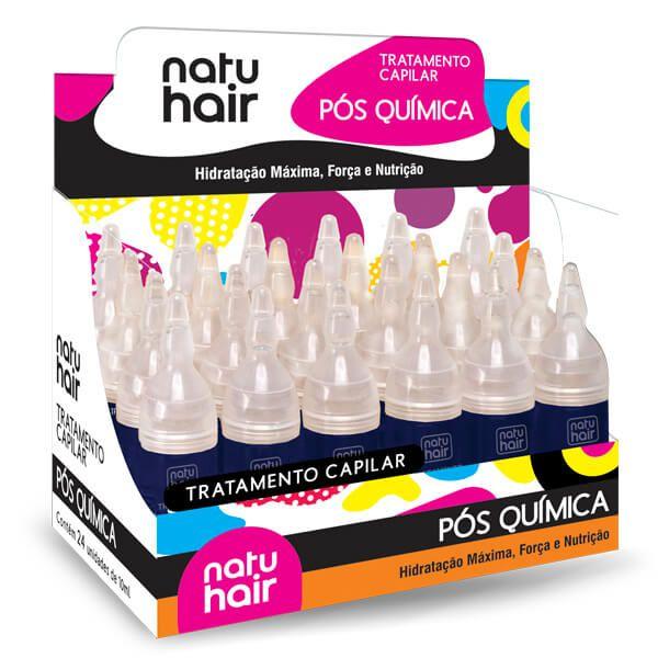Natu Hair Ampola Pós Química 10mL