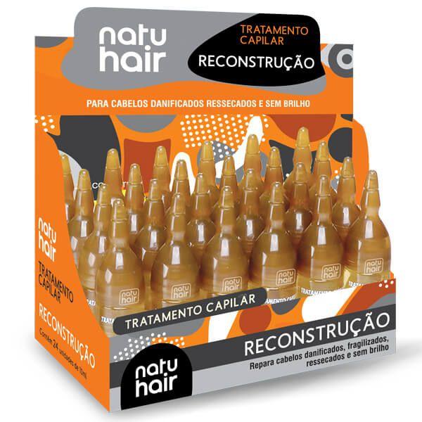 Natu Hair Ampola Reconstrução 10mL