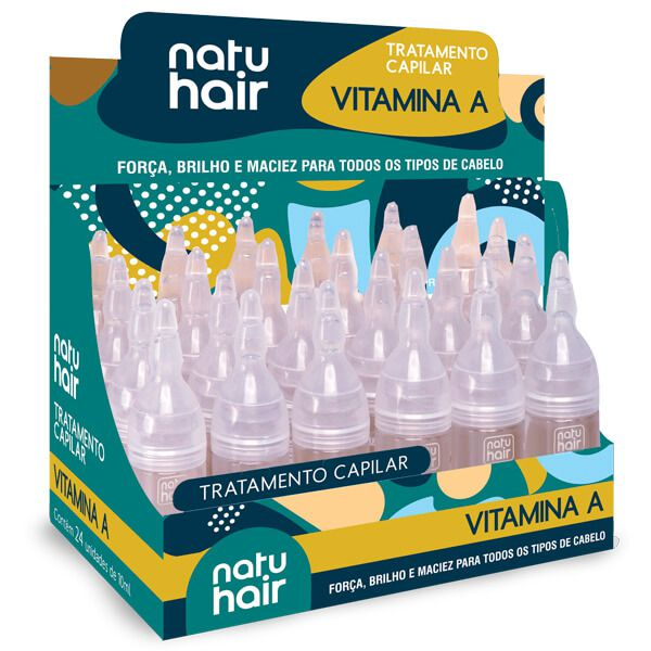Natu Hair Ampola Vitamina A 10mL