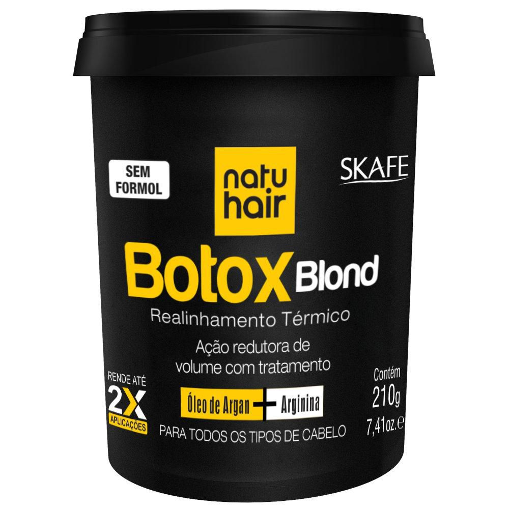 Natu Hair Botox Capilar Blond 210g