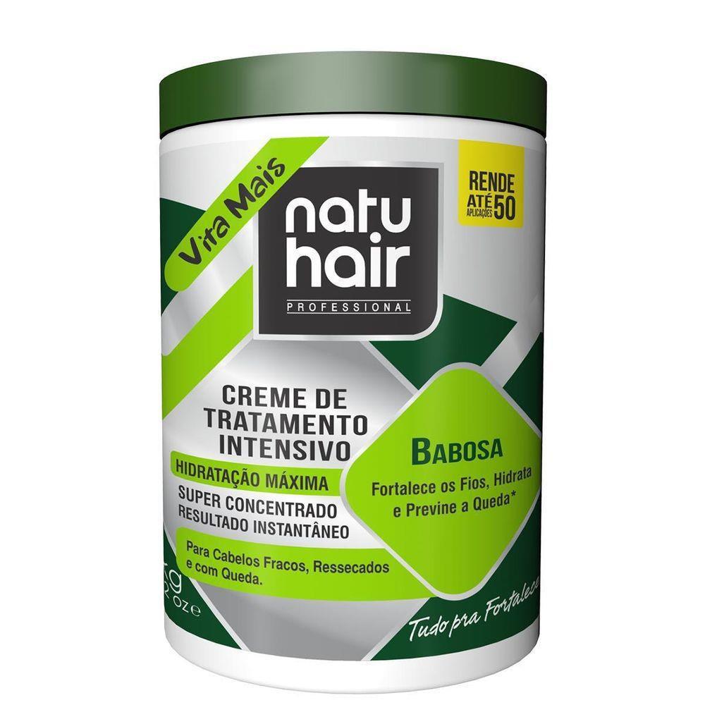 Natu Hair Creme para Pentear Babosa 1000g