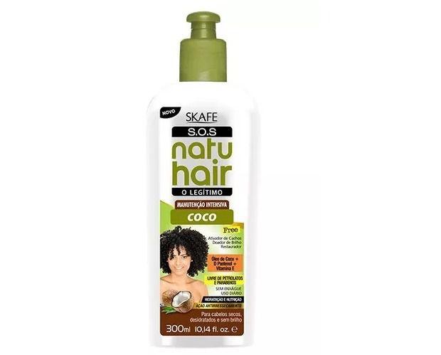 Natu Hair Leave-in Manutenção Intensiva Coco 300mL