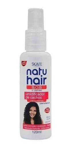 Natu Hair Leave-in S.O.S. Umidificador de Cachos 120mL