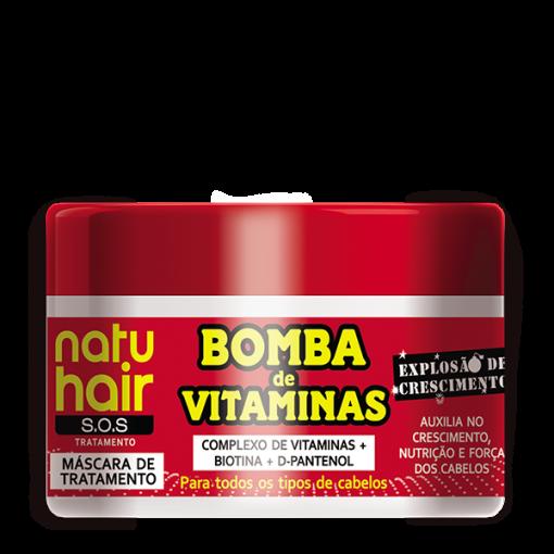 Natu Hair Máscara Bomba de Vitaminas 350g