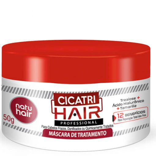 Natu Hair Máscara Cicatri Hair 350g