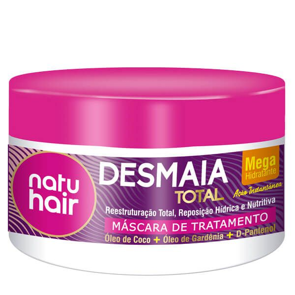 Natu Hair Máscara Desmaia Total 350g