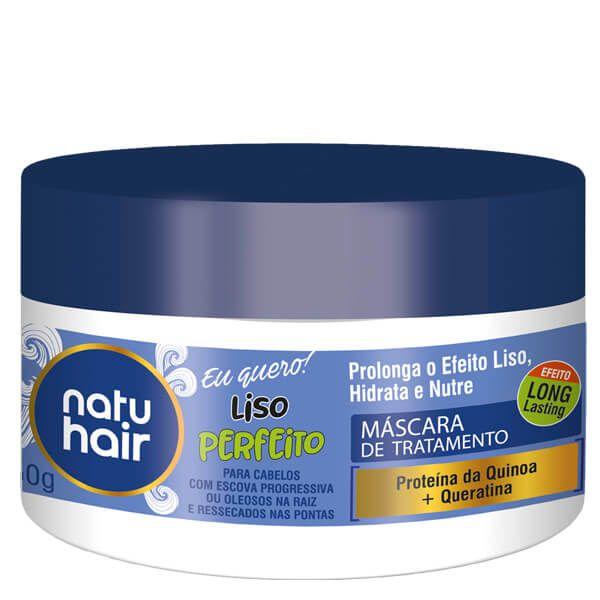 Natu Hair Máscara Liso Perfeito 350g
