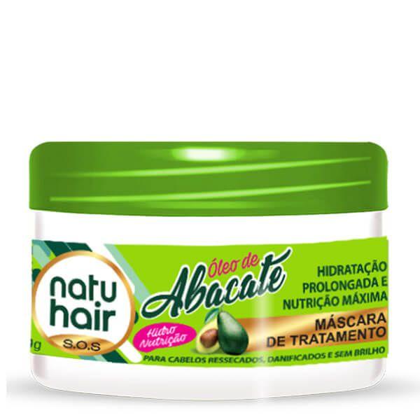 Natu Hair Máscara Óleo de Abacate 350g