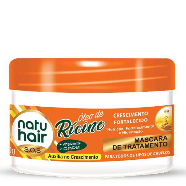 Natu Hair Máscara Óleo de Rícino 350g