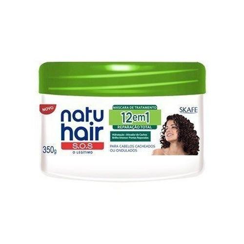 Natu Hair Máscara Reparação Total 12em1 350g